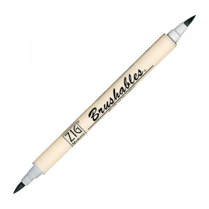 ZIG MS Brushables Brush Pen 091 Platinum