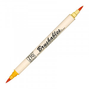 ZIG MS Brushables Brush Pen 052 Apricot