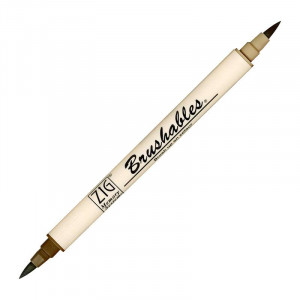 ZIG MS Brushables Brush Pen 065 Root Beer Float