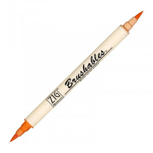 ZIG MS Brushables Brush Pen 070 Pure Orange