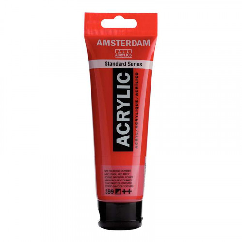 AMSTERDAM All Acrylics 120ml 399 Naphthol Red De