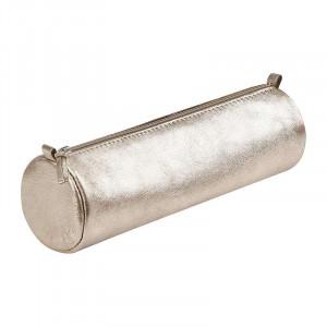 CF Cuirise Leather Pencil Case Rd Grey