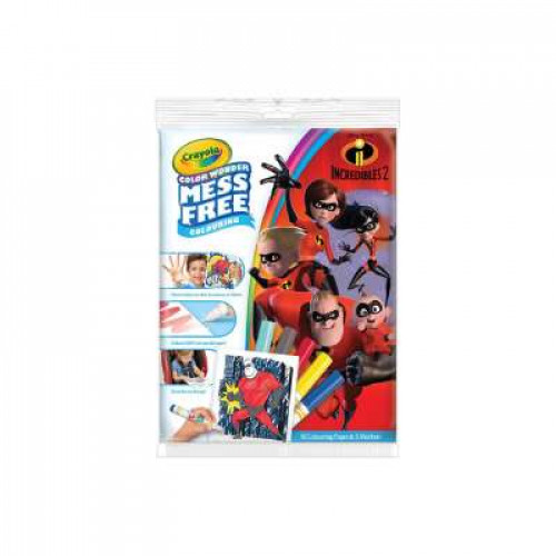 CRAYOLA Color Wonder Mess Free The Incredibles 2