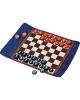 Pendleton Chess & Checkers Set Travel-Ready RollUp
