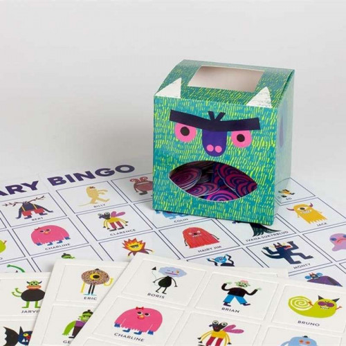 Scary Bingo: Fun with Monsters & Crazy Creatures