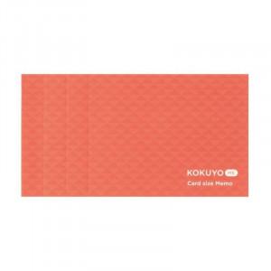 KOKUYO ME Card Size Memo 3mm Grid Shell Pink