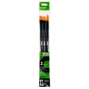 CAMPUS Acrylic Brushes XL Set of 3