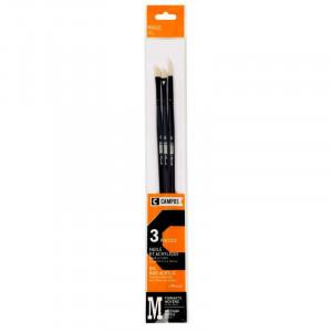 CAMPUS Oil Brushes S Set of 3