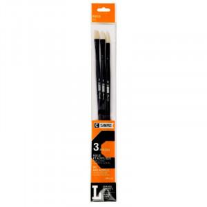 CAMPUS Oil Brushes L Set of 3