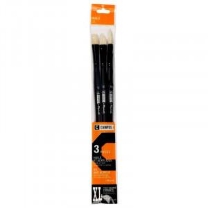 CAMPUS Oil Brushes XL Set of 3