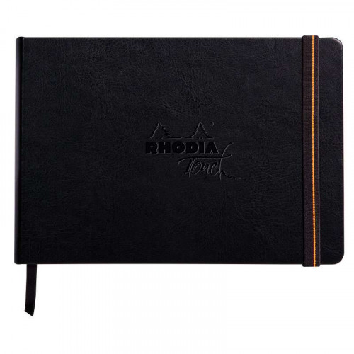 RHODIA Touch Calligrapher Book 250g A5 Blank 32s