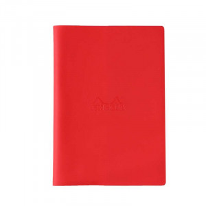 RHODIA 2021 Monthly w.cover/Basic A5 Red