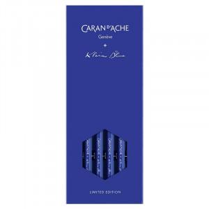 CARAN d'ACHE Graphite Pencils x Klein Blue LE Set