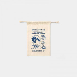 TRAVELERS FACTORY Gift Bag Passport Size