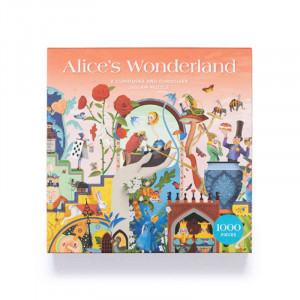 Alice's Wonderland 1000-piece Puzzle