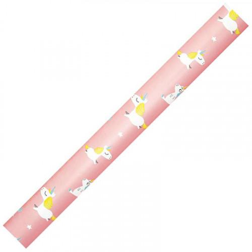 CF Gift Wrap 80g 0.7x2m Sunrise-Pink Unicorn