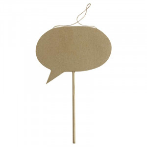 DECOPATCH Objects:Accessories-Speech Bubble on Sti
