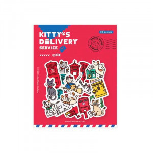 LOKAMADE Deco Sticker DS20:Kitty's Delivery Servic