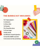CzipLearn x Limoncito Crepe Paper Flowers Kit