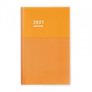 KOKUYO 2021 Jibun Techo Diary Days mini-Yellow