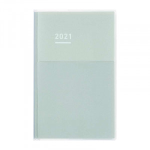 KOKUYO 2021 Jibun Techo Diary Days mini-Grey