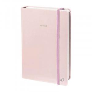QUO VADIS Pastel Notebook 15x21cm Ruled Rose