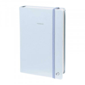 QUO VADIS Pastel Notebook 15x21cm Ruled Blue
