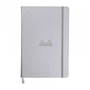 RHODIA Boutique Webnotebook A5 Lined Silver