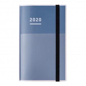 KOKUYO 2020 Jibun Techo Diary 3in1 Std-Navy