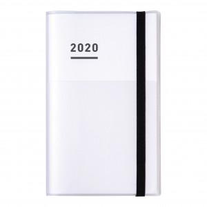KOKUYO 2020 Jibun Techo Diary 3in1 Std-White