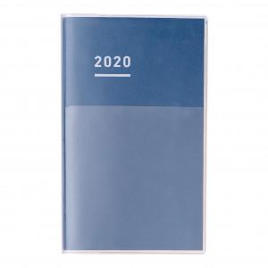 KOKUYO 2020 Jibun Techo Diary Clear-Navy