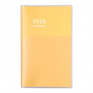 KOKUYO 2020 Jibun Techo Diary Clear-Yellow