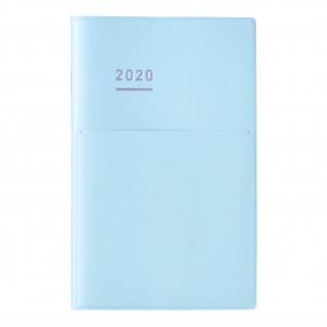 KOKUYO 2020 Jibun Techo Diary mini Pale Matt-L.Blu