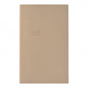 KOKUYO 2020 Jibun Techo Diary Lite mini-Beige