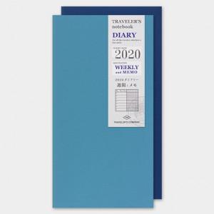 TRAVELERS Notebook 2020 Weekly+Memo Refill